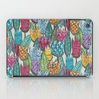 tulips iPad Cases featuring tulips by Sharon Turner