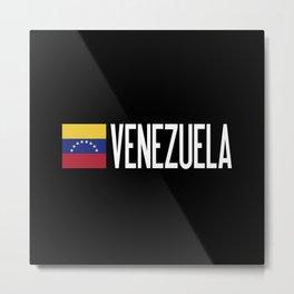Venezuela: Venezuelan Flag & Venezuela Metal Print