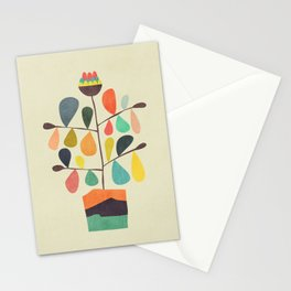 Potted Plant 4 Stationery Cards