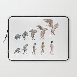 Darwin's Inspiration Mug Laptop Sleeve