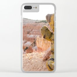 Tiger Bryce Canyon Utah, United States Clear iPhone Case