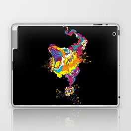Psychedelic Bear Roar Laptop & iPad Skin