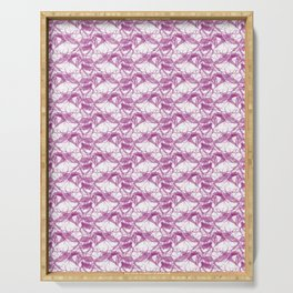 *PURPLE_PATTERN_4 Serving Tray