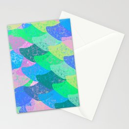 Colorful Scales Stationery Cards