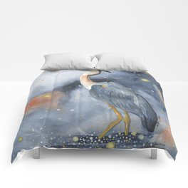 Wading in the Wonderland Comforters