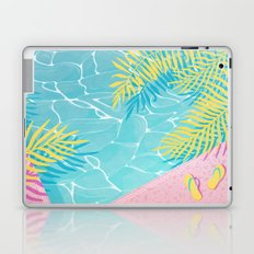 Tropical pool chill Laptop & iPad Skin