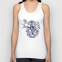 doodle Tank Tops featuring Doodle by Puddingshades