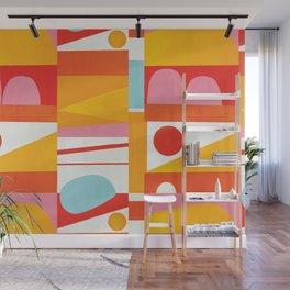 Modern Colorblock Wall Mural