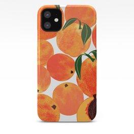 Peach Harvest iPhone Case