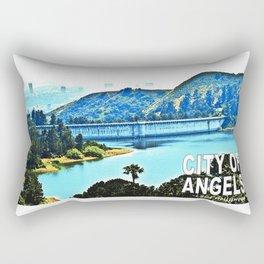 Lake Hollywood Rectangular Pillow