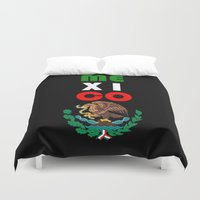 mexico Duvet Covers featuring Mexico  by RDsix3