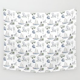 Castle Hill Lighthouse Wall Tapestry