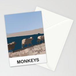 MONKEYS Stationery Cards