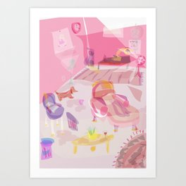 office space Art Print
