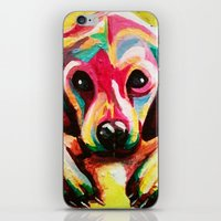 puppy iPhone & iPod Skins featuring Puppy by stepanka hejlova