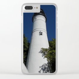 Shining Light Clear iPhone Case