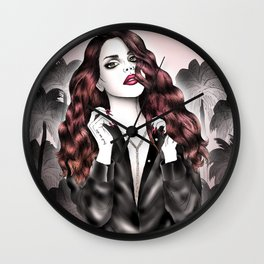 Dark Eden Wall Clock