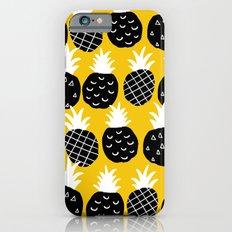 Black pineapple. iPhone 6s Slim Case