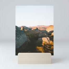 First Light on Rams Head III Mini Art Print