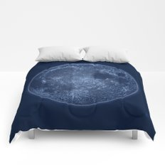 Dark Side of the Moon - Painting Comforters