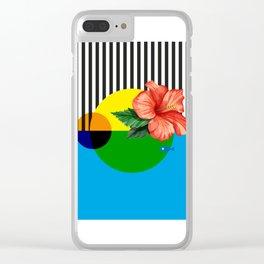 #Isleña Cayena Tropical Clear iPhone Case