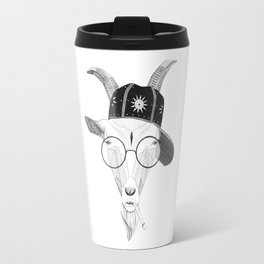 The Badass Goat Travel Mug