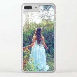 Fairytale Romance Clear iPhone Case