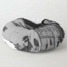 Hungarian Street Floor Pillow