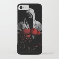 boxing iPhone & iPod Cases featuring Death Boxing by tshirtsz