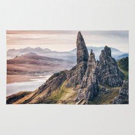 Old Man of Storr, Isle of Skye, Scotland Rug