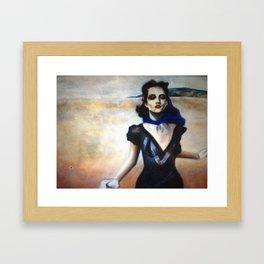 running Framed Art Print
