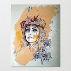 female model Canvas Print