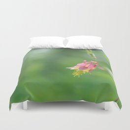 Columbine Bloom Duvet Cover