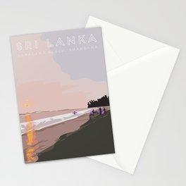 Ahangama, Sri Lanka Travel Poster Stationery Cards