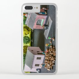The Little Millers Coffee Corporation Clear iPhone Case