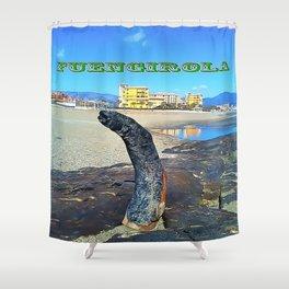 Fuengirola Shower Curtain