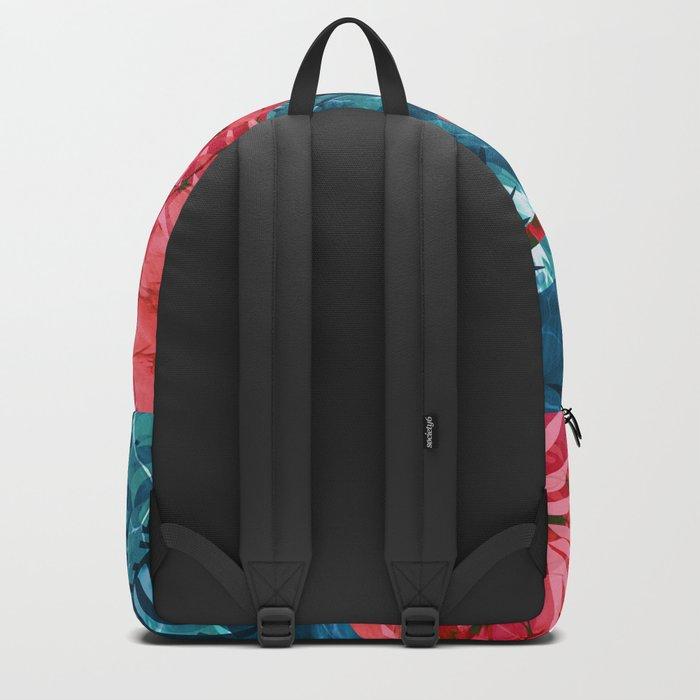Summer Beach Tropical Pattern Backpack