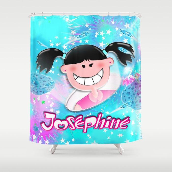 Josephine Texture Shower Curtain