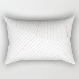 Gloomy Rain Rectangular Pillow