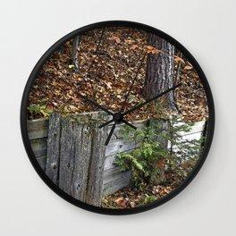 Wood Wall Wall Clock