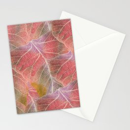 My leaves Stationery Cards
