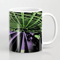washington dc Mugs featuring Washington DC Metro by Amy Smith - ColorScape