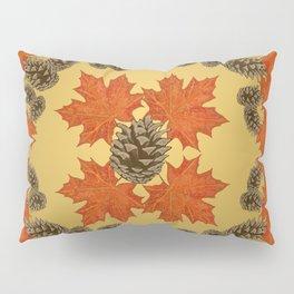Oak Leaves & Pine Cones Pillow Sham
