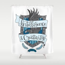 House Pride - Intelligence & Creativity Shower Curtain