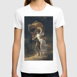 Pierre Auguste Cot - The Storm T-shirt
