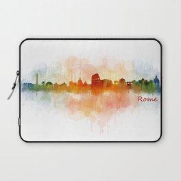 Rome city skyline HQ v03 Laptop Sleeve