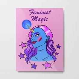 Feminist Magic Metal Print