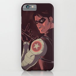 He is a ghost iPhone Case