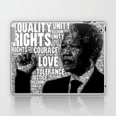 Mandela tribute Laptop & iPad Skin