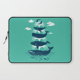 Whale of a Time Laptop Sleeve